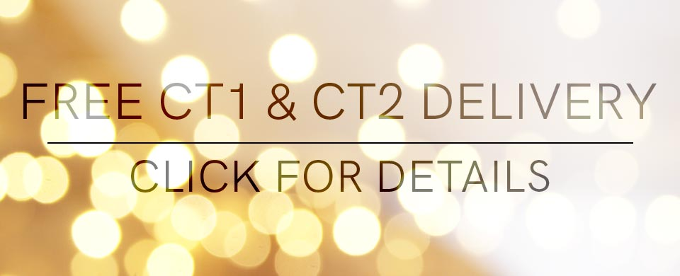 Free deliveries in CT1 and CT2