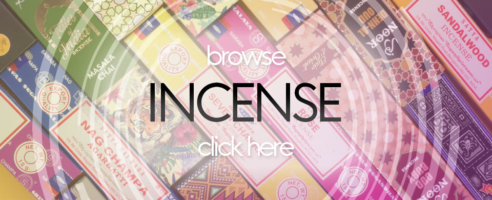 Browse our incense