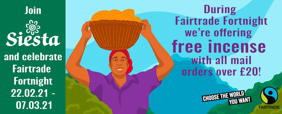Free gift for FairTrade Fortnight