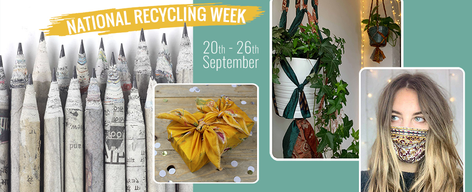 Celebrate National Recycling Week with our amazing world handicrafts!