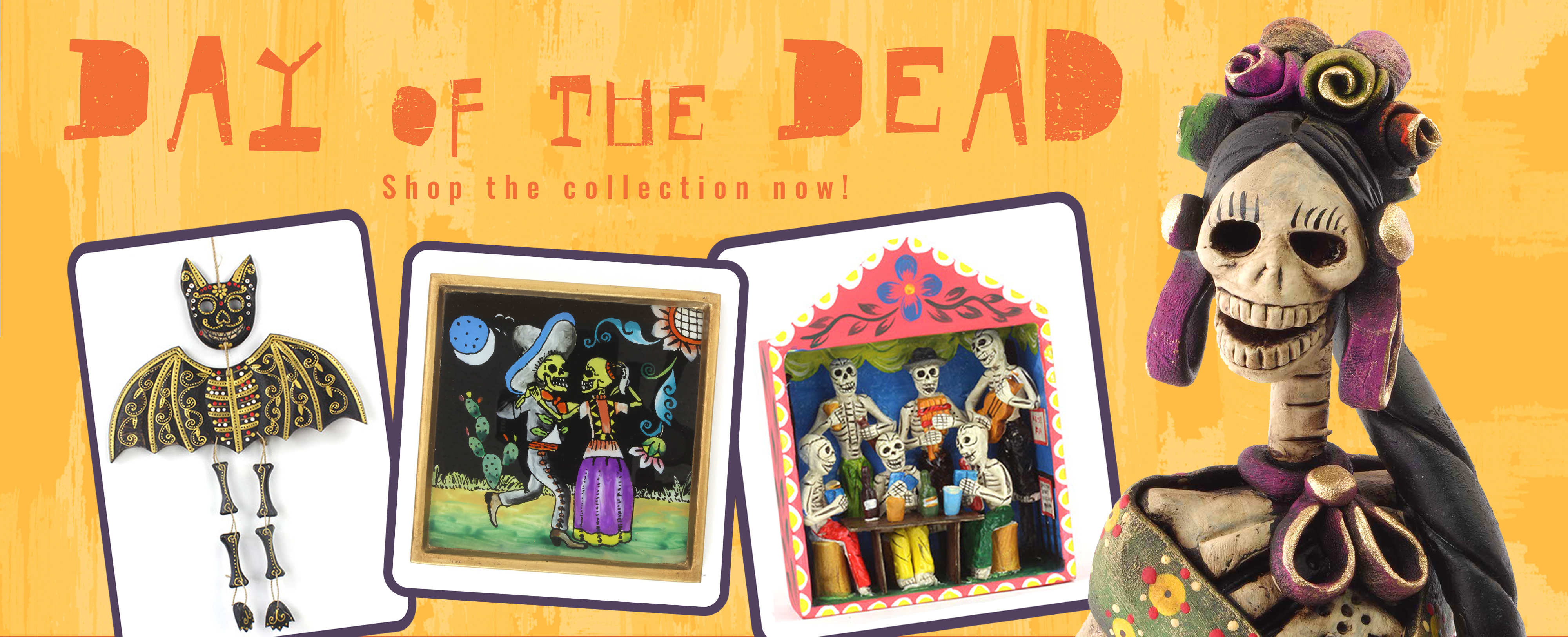 Celebrate day of the Dead in style!