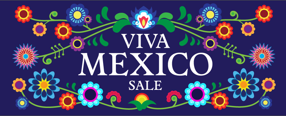 Special Mexican Goods Sale 2017