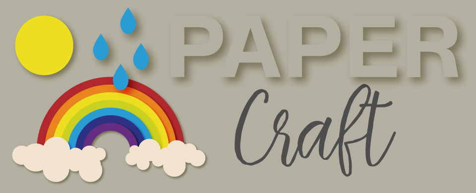View our collection of paper craft items