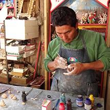 Retablos from Peru