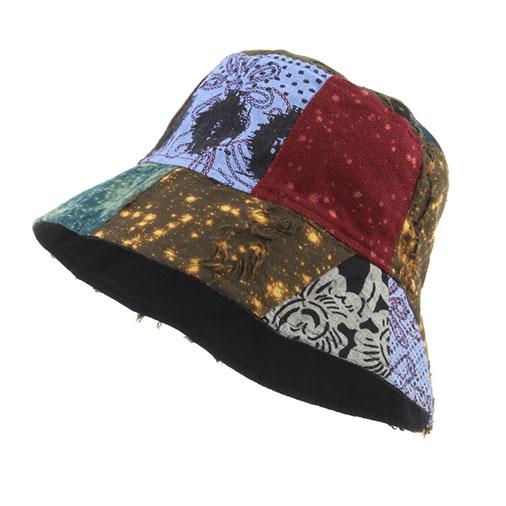 Thai Patch Bucket Hat