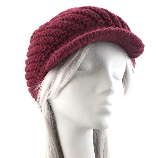 Woollen Baker Boy Hat