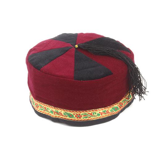 Smoking Cap Victorian Vintage Woolen Uk Tibetan Nepal From