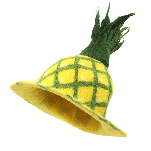 Felt Pineapple Hat