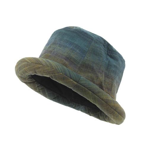 e912bbf8f2f Roll Hat Rolled Trilby Northern Thai Headwear Fair Trade