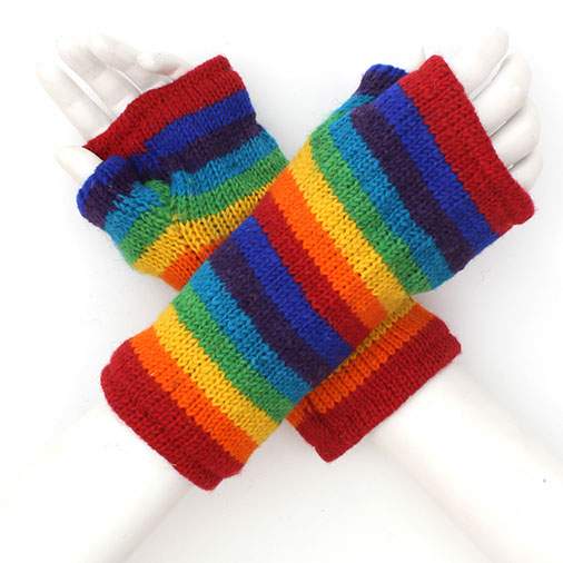 Rainbow Tube Gloves