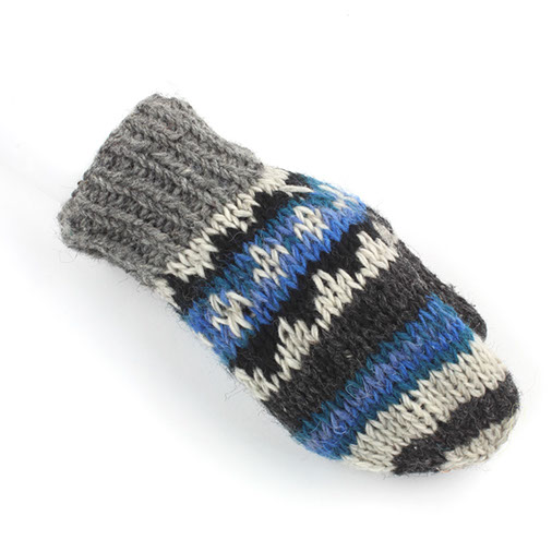 Mixed Wool Mittens