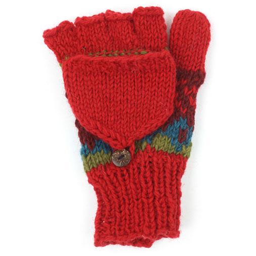 Festive Flap Gloves