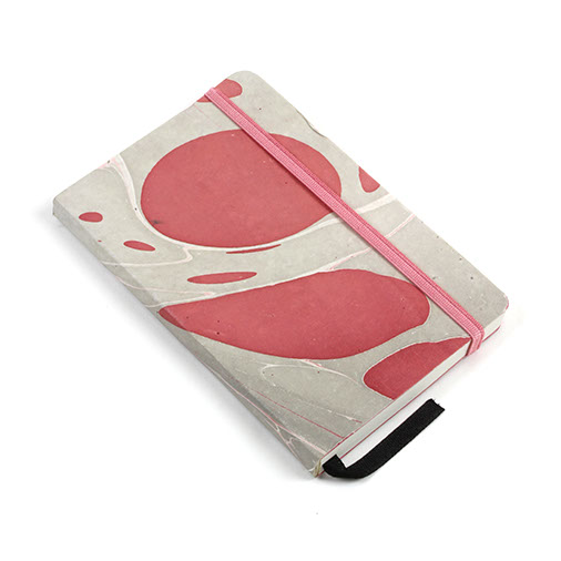 Recycled Cotton Marble Jotter