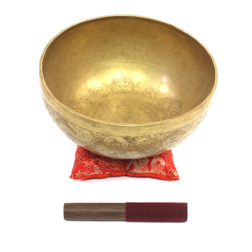 Buddha and Shakti Artisan Singing Bowl No.58