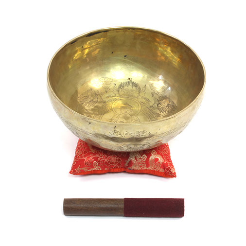 Tashi Tag Gye Artisan Singing Bowl No.60