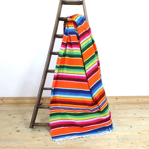 Serape Saltillo Blanket