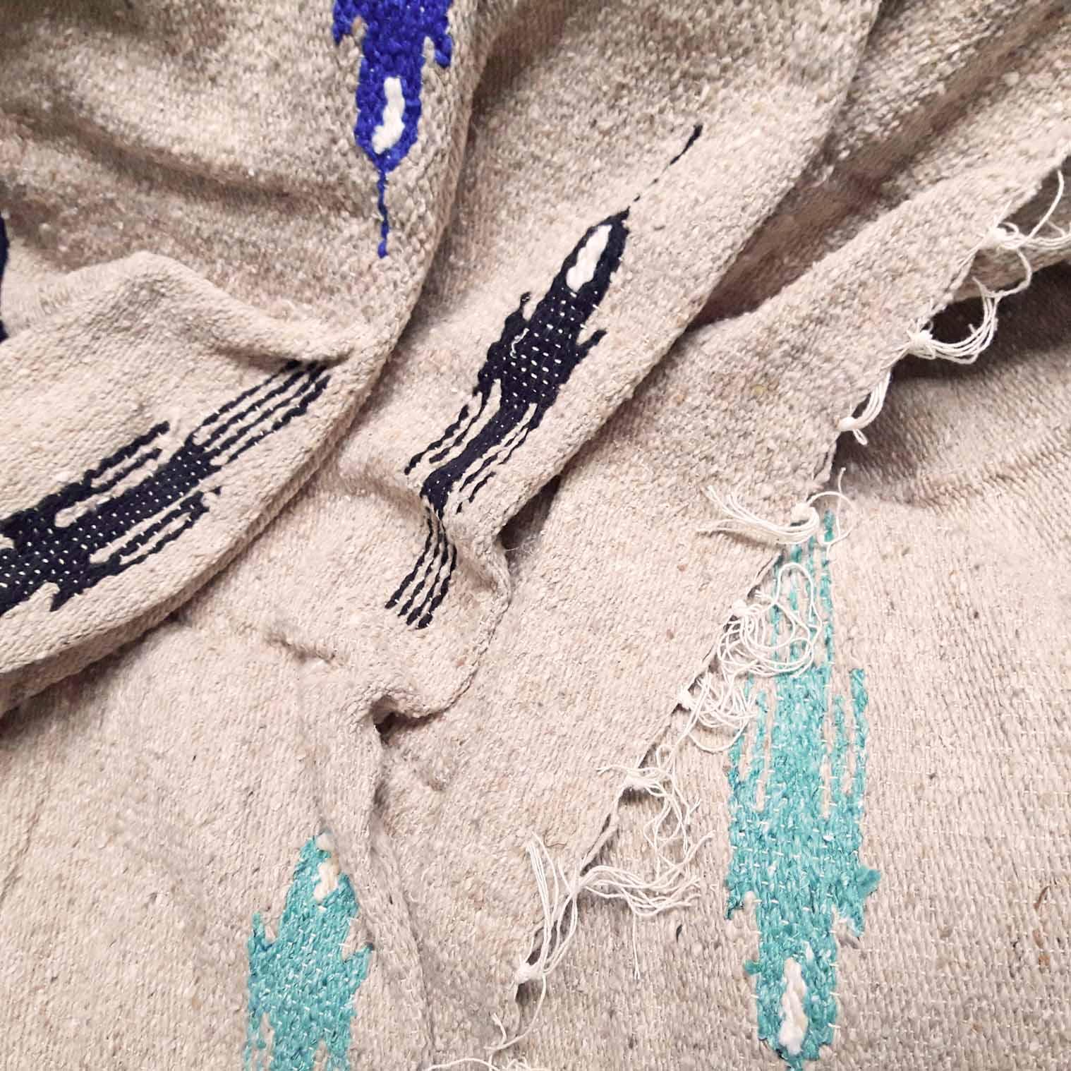 Mexican Bird Blanket - Beige