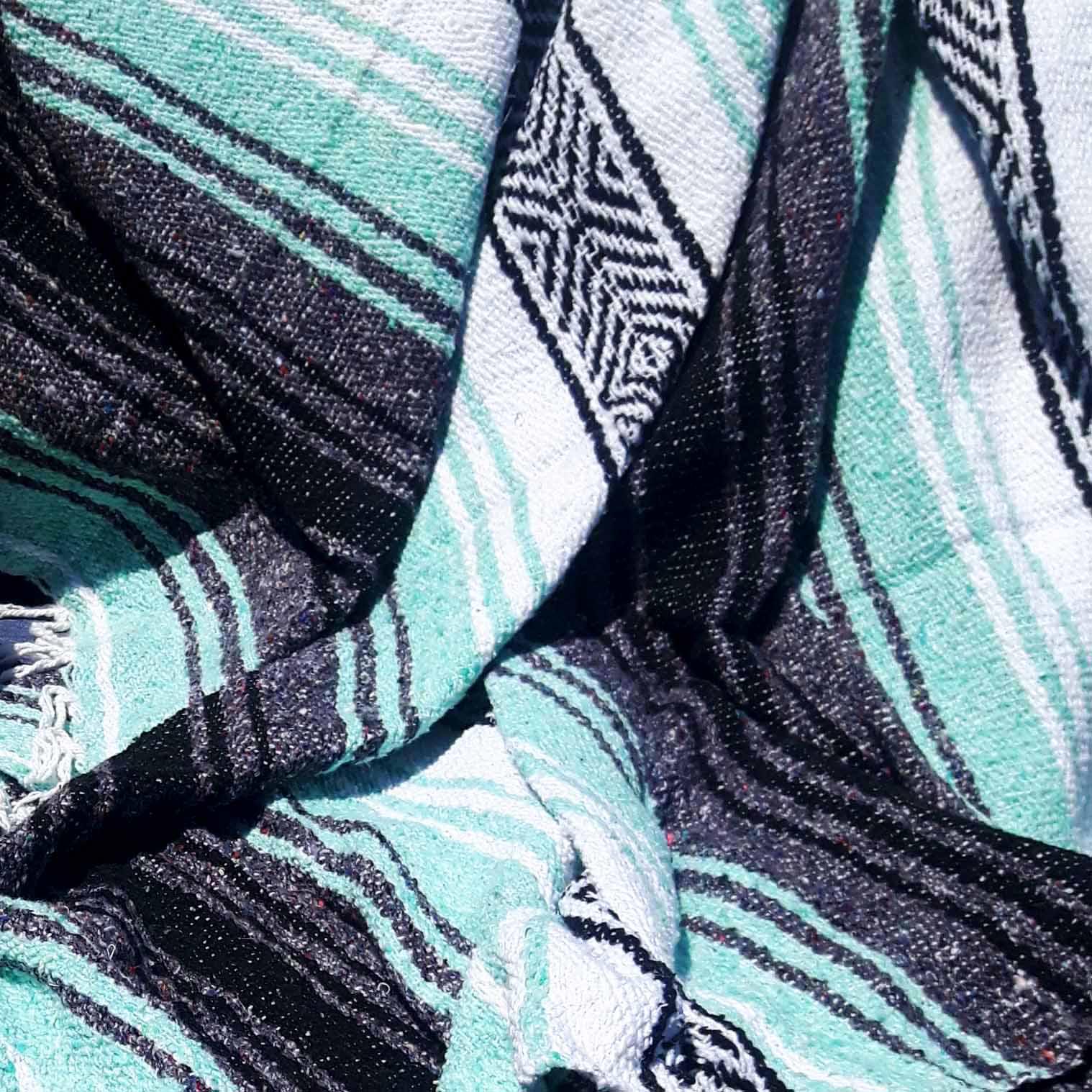Mexican Falsa Blanket - Green Tea