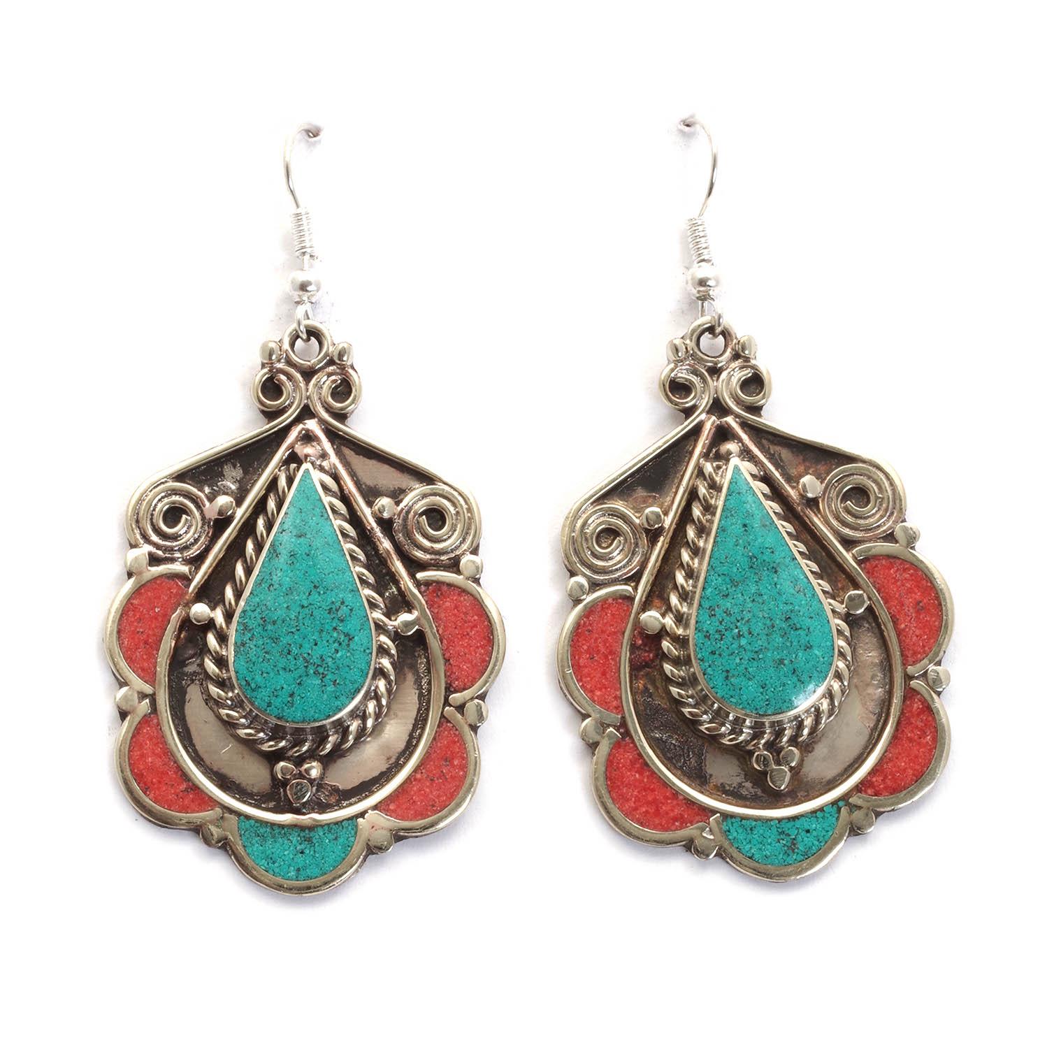 Soneeya Metal Earrings