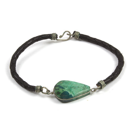 Green Stone Wristbands