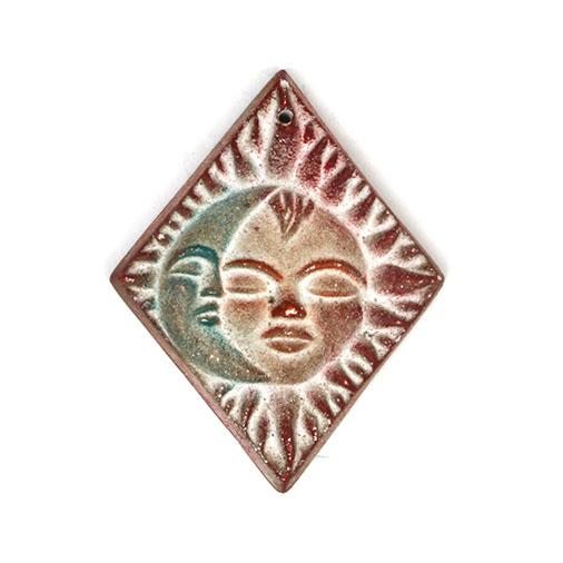 Sun & Moon Diamond Pendant