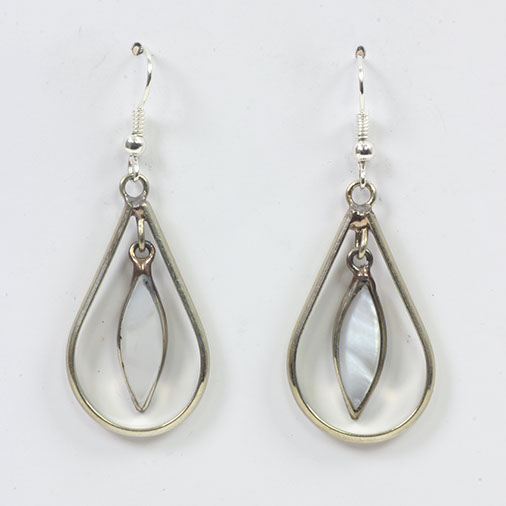 Ringed Stone Mexican Earring - Siesta Wholesale UK