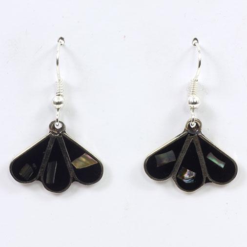 Mini Fan Earrings Handmade Mexico - Siesta Wholesale UK