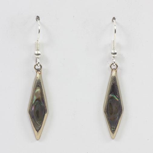 Mexican Small Alpaca Silver Earrings - Siesta Wholesale UK