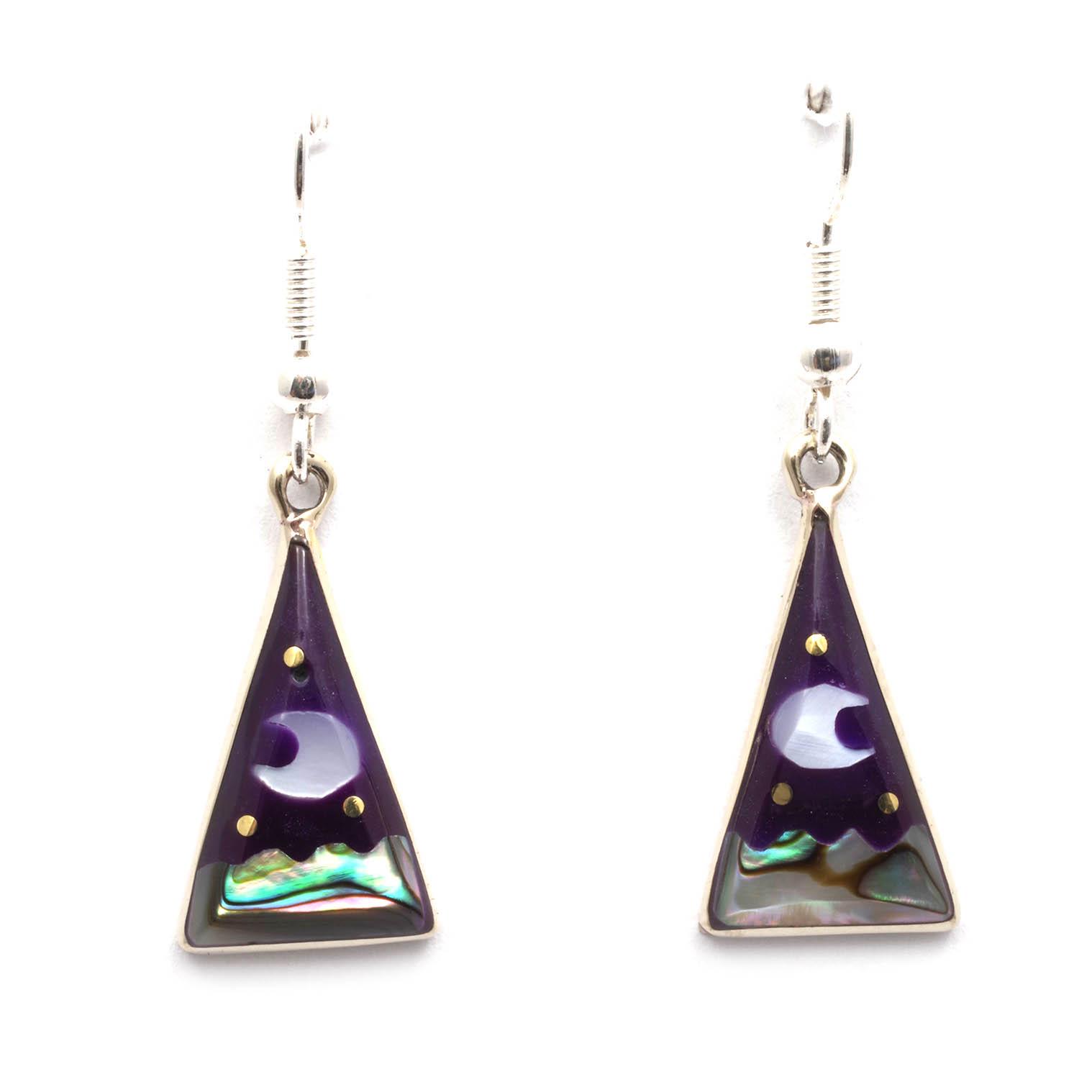 Stellar Triangle Earrings