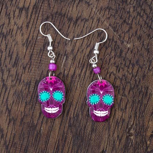 Small Skull Earrings