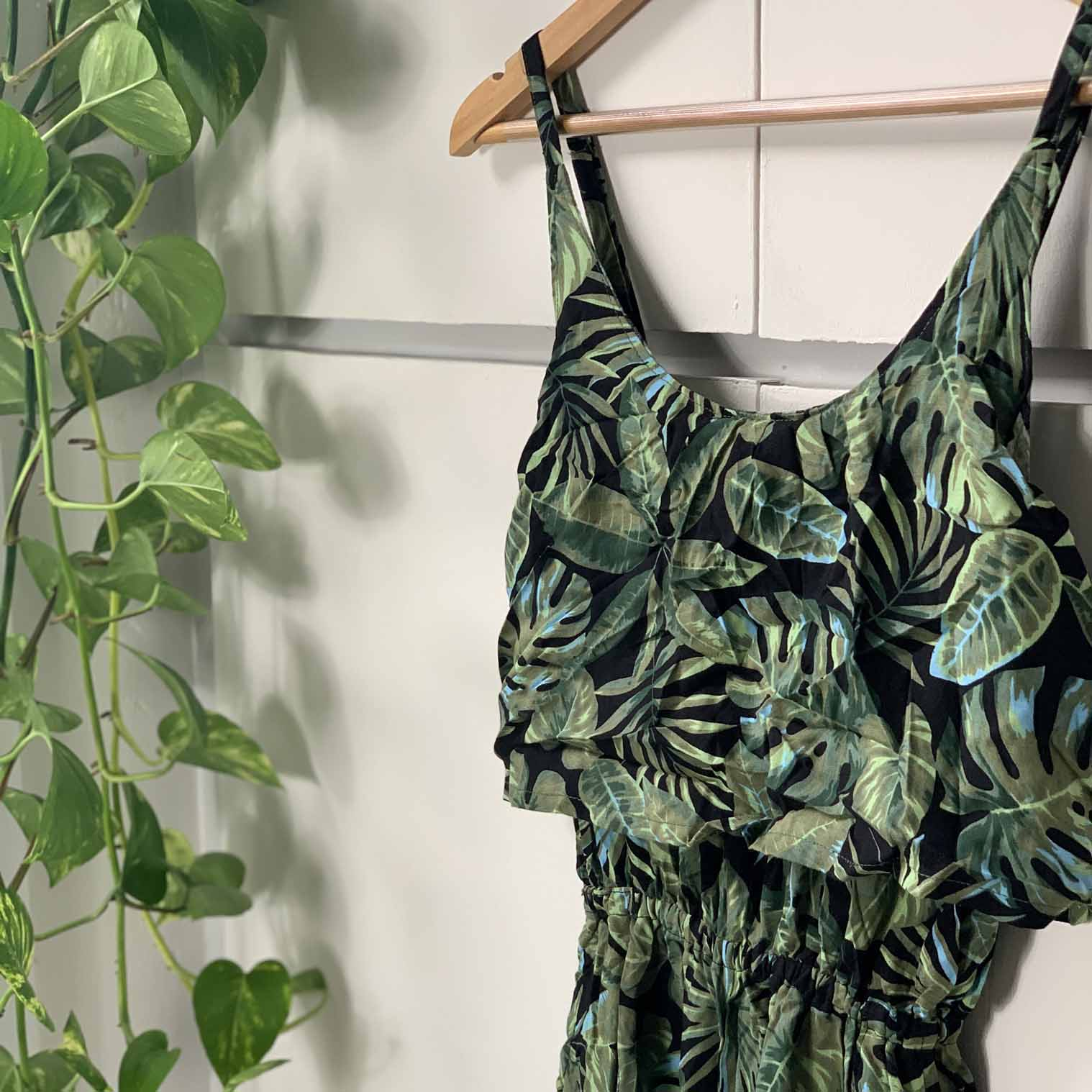 Jungle Print Jumpsuit