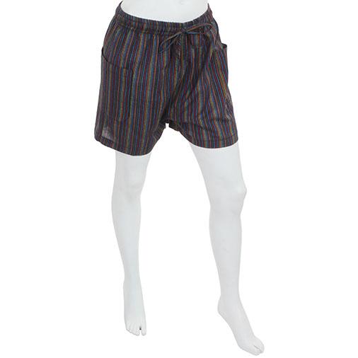 Nepalese Stripe Summer Shorts