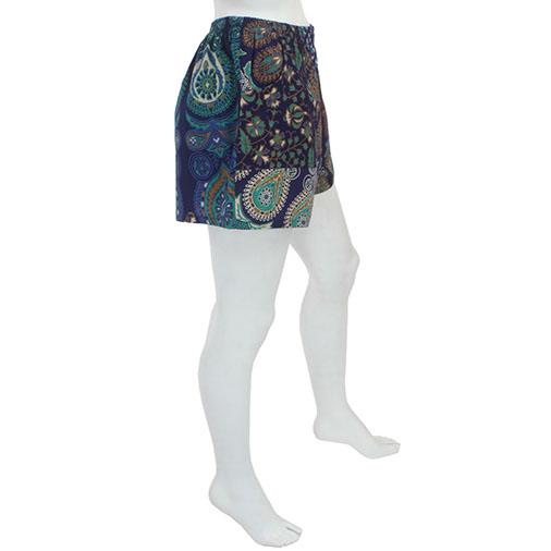 Bedspread Ladies Shorts