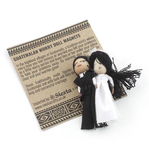 Wedding Worry People - Bride and Groom