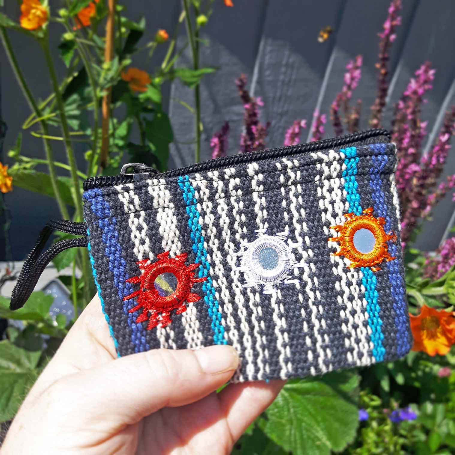 Gheri Purse with Mirrors