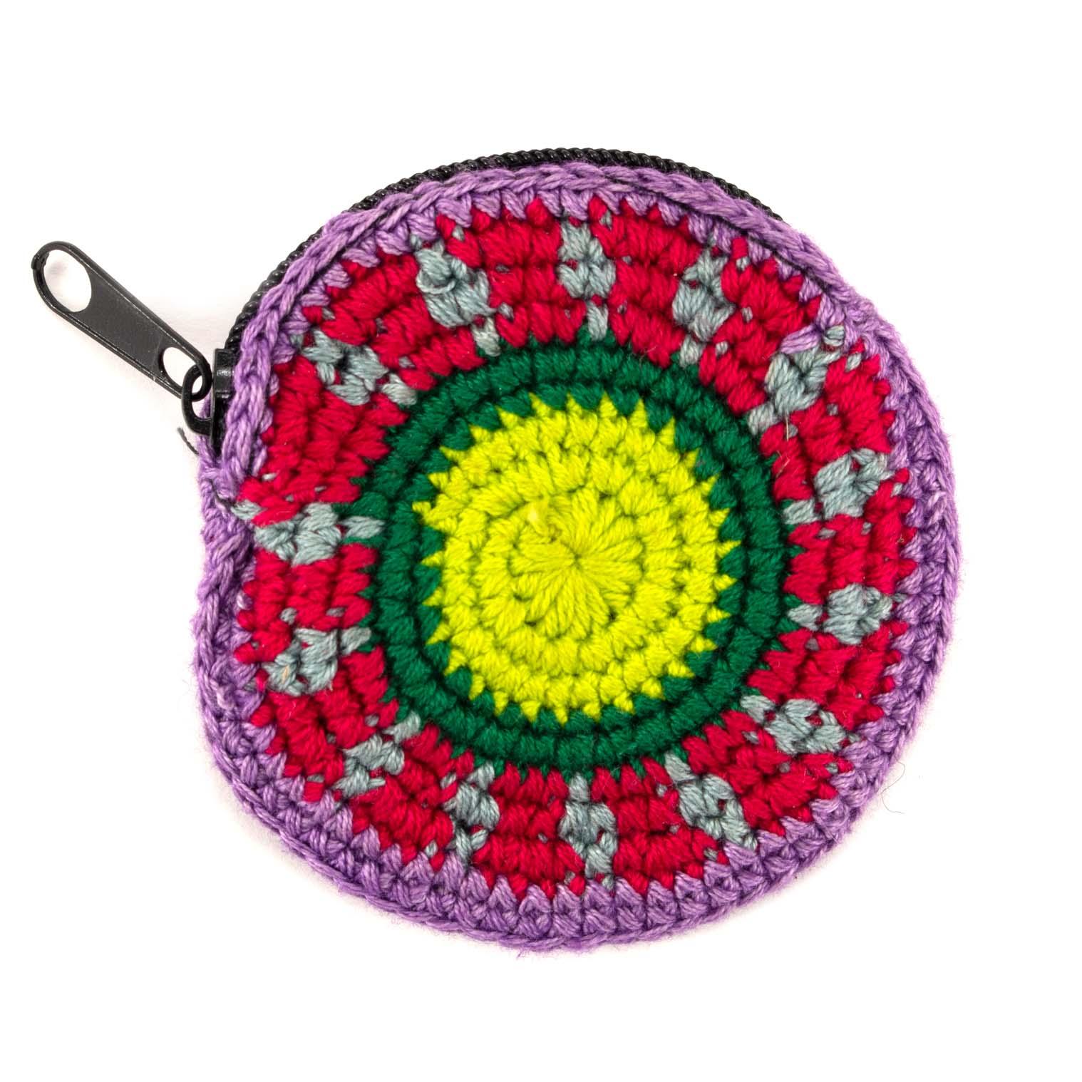 Mini Round Crochet Purse