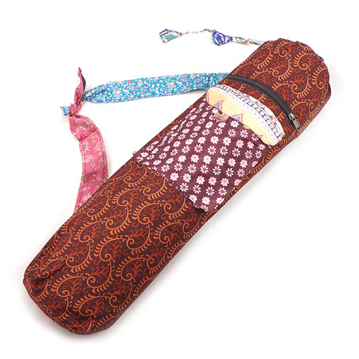 Sari Patch Yoga Bag