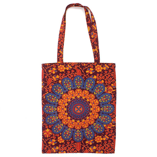 Indian Peacock Tote Bag