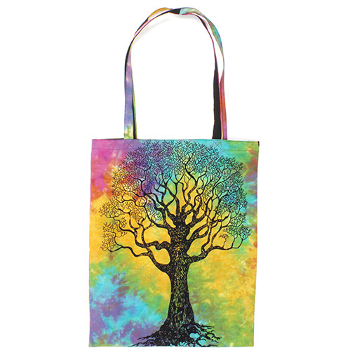 Indian Tree of Life Tote Bag