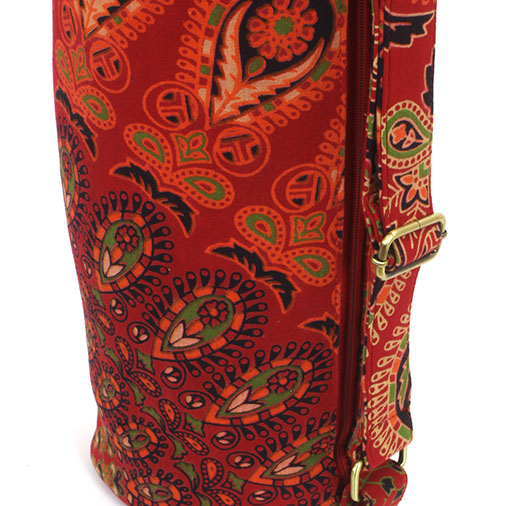 Bedspread Material Yoga Bag
