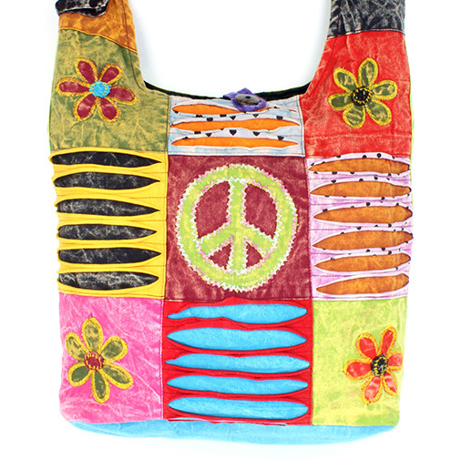 Patch Hippy Bag