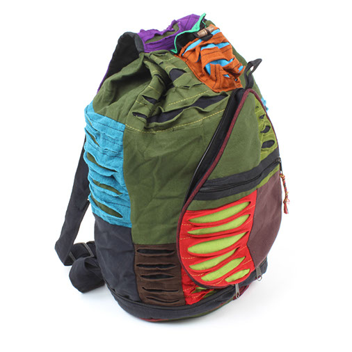 Rip Cotton Folding Backpack