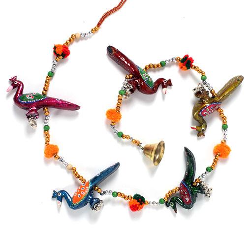 String of Peacocks