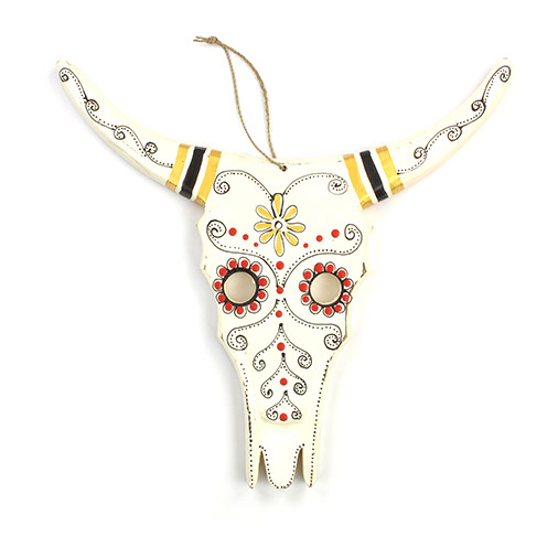 Candy Cow Skull