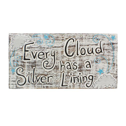 Every Cloud Plaque