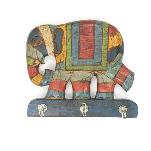 Rustic Elephant Keyhook