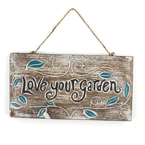 Love your Garden Plaque