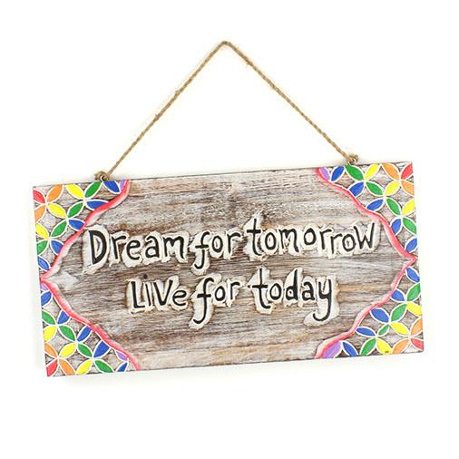 Dream for Tomorrow Plaque