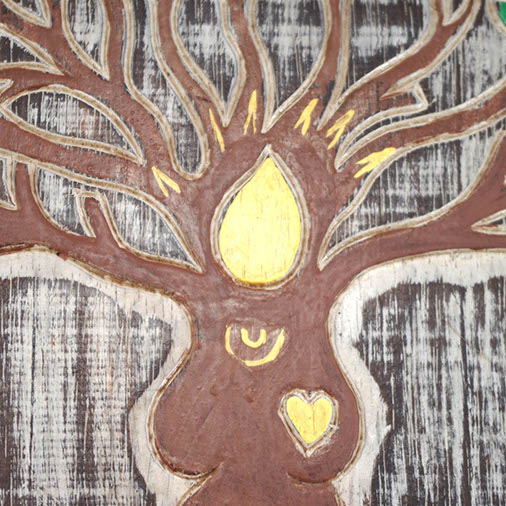 Tree Goddess Plaque