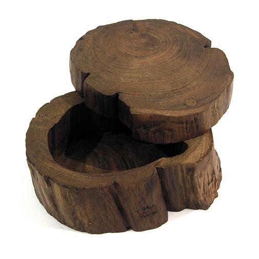 Log Box With Sliding Lid